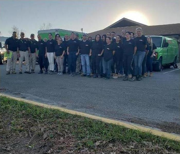 SERVPRO Team Group image